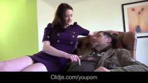 Infidel old guy gets laid with