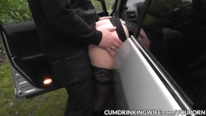 Slutwife Marion creampied by many guys