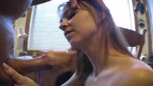 Slutty amateur GF jerking dick #17