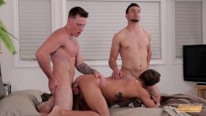 Next Door Buddies Military Fantasy Threesome