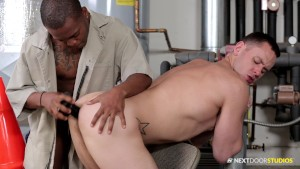 Next Door Buddies Brenner Bolton Getting Fucked By Big Black Dick