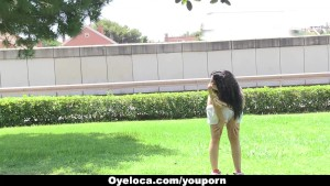 OyeLoca - Sexy Latina Naked Around Barcelona