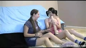 Teens Find Mom s Dildo And Get