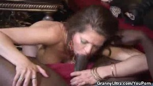 Mature Honey Gets Laid With A Black Stud