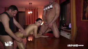 TEEN THREESOME SLUT ANAL GERMAN COMPILATION
