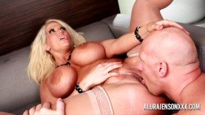 Alura Jenson hot Blowjob and A