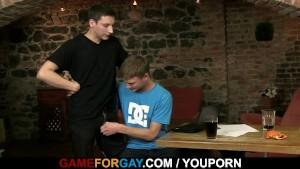 Oh God, he seduces me into gay sex!