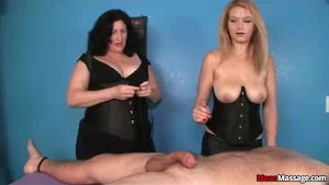 Blonde Masseuse Accidentally T