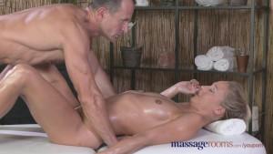 Massage Rooms Tall horny blond