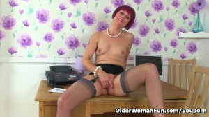 British milf Penny loves being