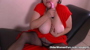 Granny Gloria s magic wand vibrator will do the trick