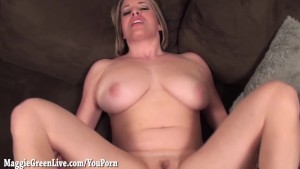 All Natural Blonde Maggie Green wants to be Knocked Up!