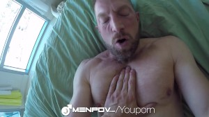 Daddy Adam Herst Joins Colt Rivers in the Shower and gets XXX