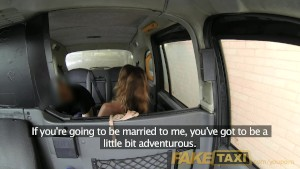 FakeTaxi Stunning gold digger with great a body
