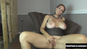 Charlee Chase Pleases Her Horny Pussy