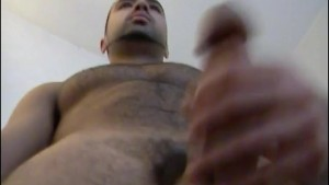 jerkoff with a sexy french arab guy with big cock.