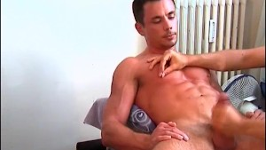 Cock massage to a sexy and handsome sport guy: Thomas.