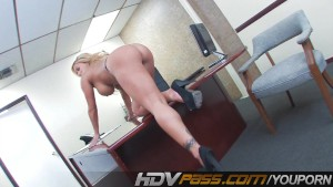 Shyla Stylez Is A Office Whore