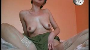Brunette Milf Sucks Cock - Julia Reaves