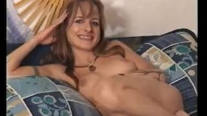 Cute MILF masturbating for him - Julia Reaves