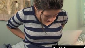 Busty Asian Leilani Masturbating