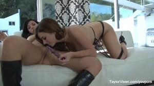Taylor Vixen fucks Her Busty Friend Jelena Jensen