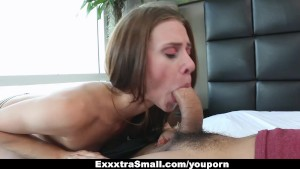 ExxxtraSmall - Extra Small Escort Stretched By A Huge Cock