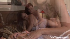 Bath Time With Aria Giovanni & Taylor Vixen