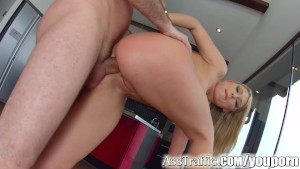 Asstraffic fucking for cute blonde Lucy Heart