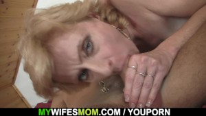 Blonde mother in law taboo sex