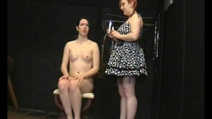 submissive lyarah facial candle waxing and lesbian domination of amateur slavegirl from canada in sweet girl on bitch bdsm and humiliation