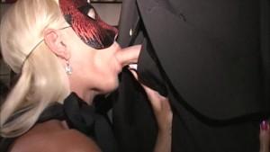 SlutMILFs suck-fuck in Trapezeclub Cougar eats cum off cock that fucked her