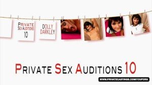 Brunette Dolly Darkley, her casting had anal sex