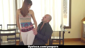 Oyeloca - Latina Seduced and Fucked by Horny Teacher