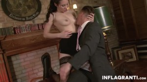 INFLAGRANTI Sexy Asian Secretary
