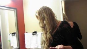 Samantha Saint behind the scenes footage