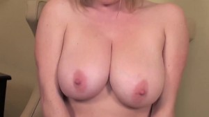 Busty Blonde Maggie Green Cums with Big Toy!