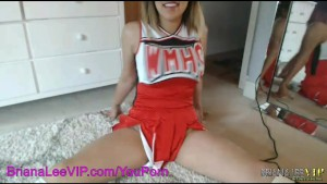 Briana Lee Sexy Cheerleader