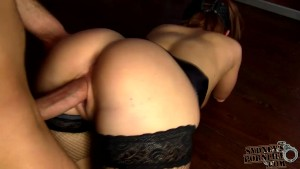 Amateur girl riding reverse cowgirl style!