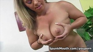 Allie Foster loves her tits fu
