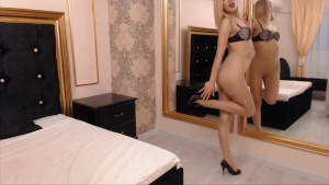 Pantyhose cam show with OneDayBya