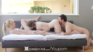 Passion-HD - Goldie and Shiloh Sharada enjoy a sexy fuck fest