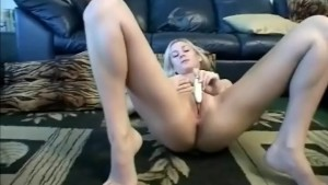 Busty Amateur On The Couch
