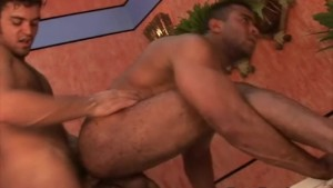 Latino Hunk First timer enjoy Bareback Sex