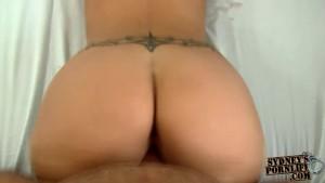 Fucking a sexy white ass!