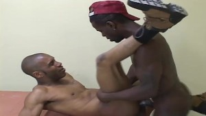 Ass Fuck The Black Out Of Him - BC Productions