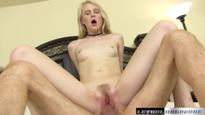 Teen Lily Radar gets spanked a