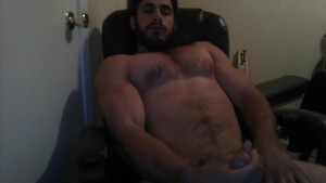 THE BODY JERKS OFF IN CHAIR