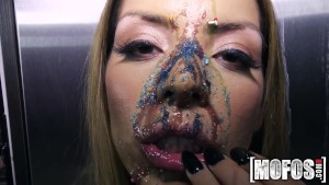 Mofos - Latina s Big Tits Covered in Candy