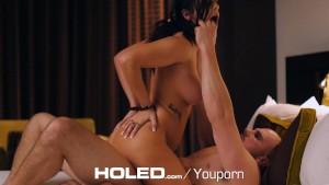 HOLED - Keisha Grey submissive anal sex evening with J Mac